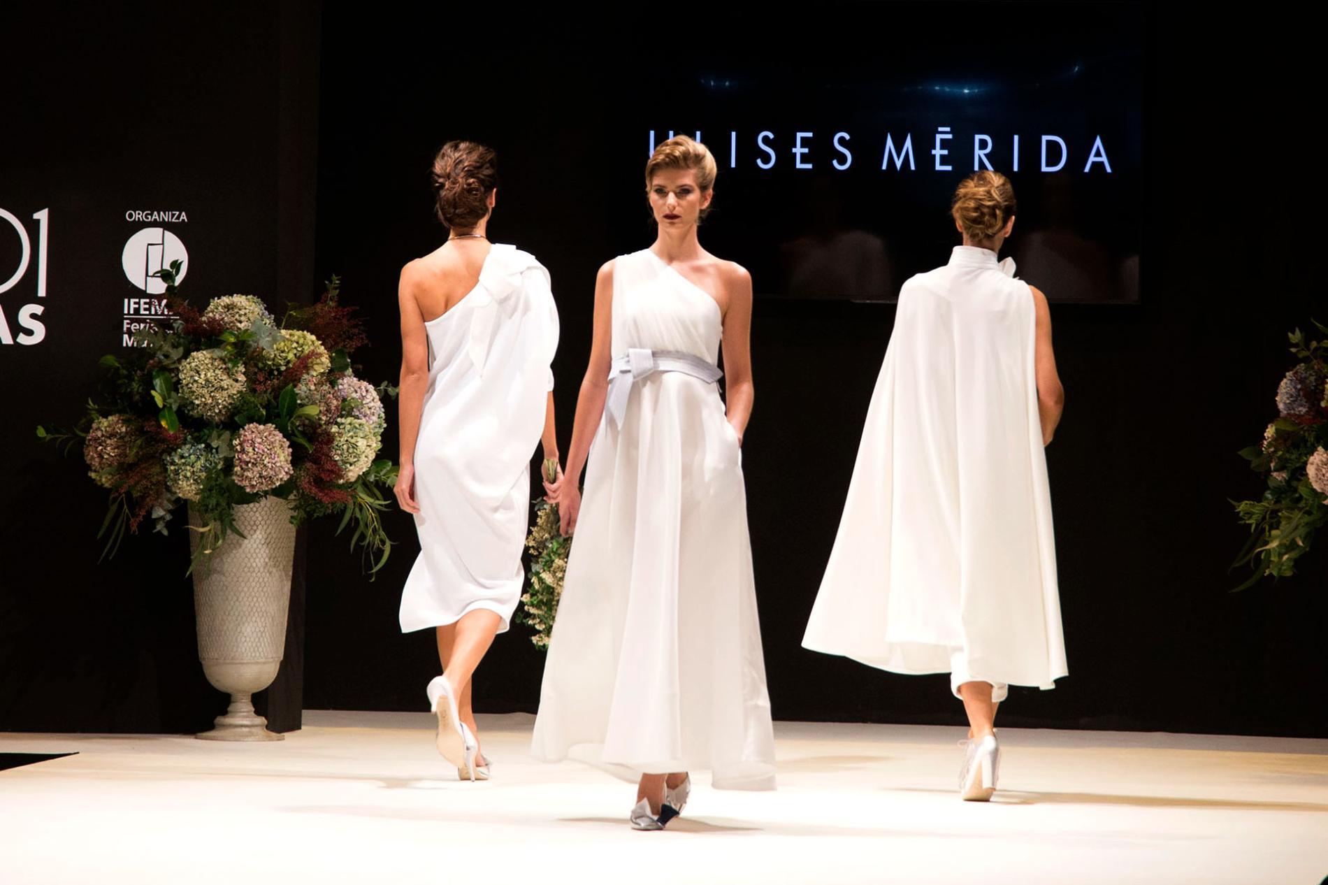 desfile vestidos blancos de novia