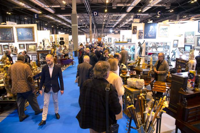 Almoneda Antik Passion recibió 18.000 visitantes