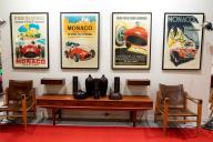 Old car racing posters