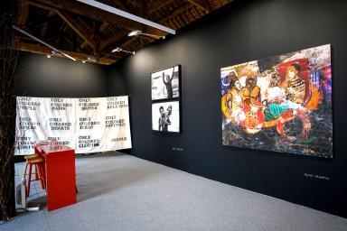 Obras pictóricas del continente africano