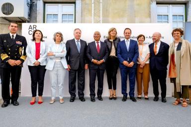 Representantes y promotores de Arco Lisboa