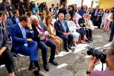 reunión de prensa