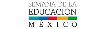 Logo SEMANA DE LA EDUCACIÓN MEXICO