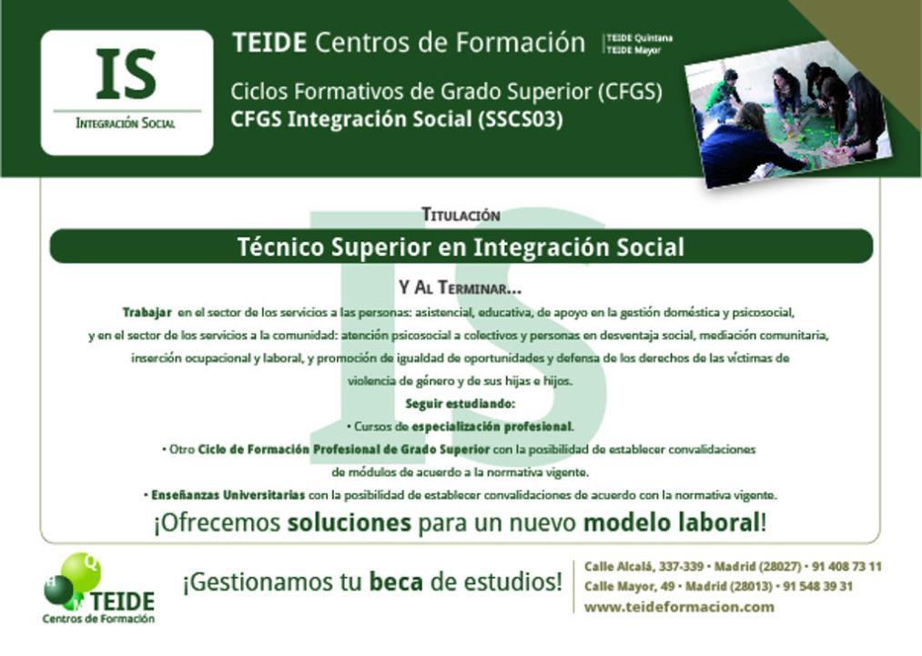 Cfgs Integración Social