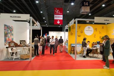 Stands en la feria Congreso Red