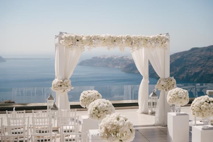 Same Sex Weddings in Santorini