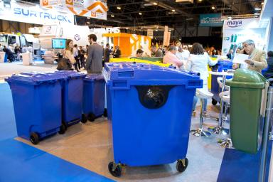 Containers for garbage