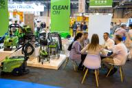 Meeting at a stand of Esclean