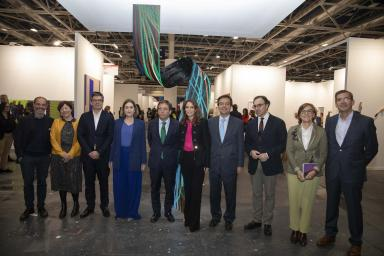 Autoridades inauguran Estampa 2019 en Feria de Madrid