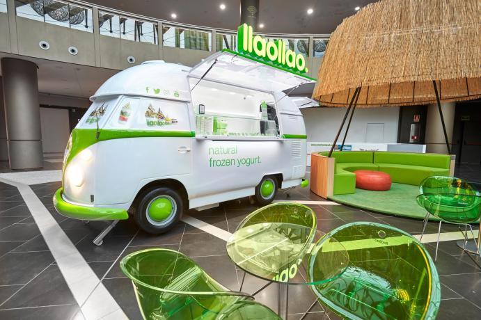 Food truck, el nuevo espacio de llaollao