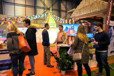 Visitors at the Expotural fair