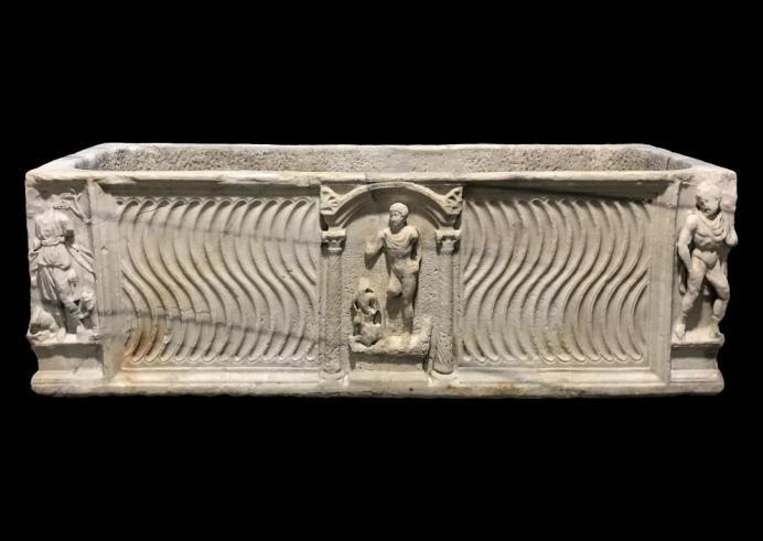 El sarcófago del barón Bagot