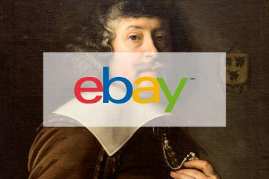 Old picture with the ebay logo