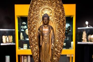 Escultura de Buda antigua