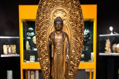 Budha's sculpture
