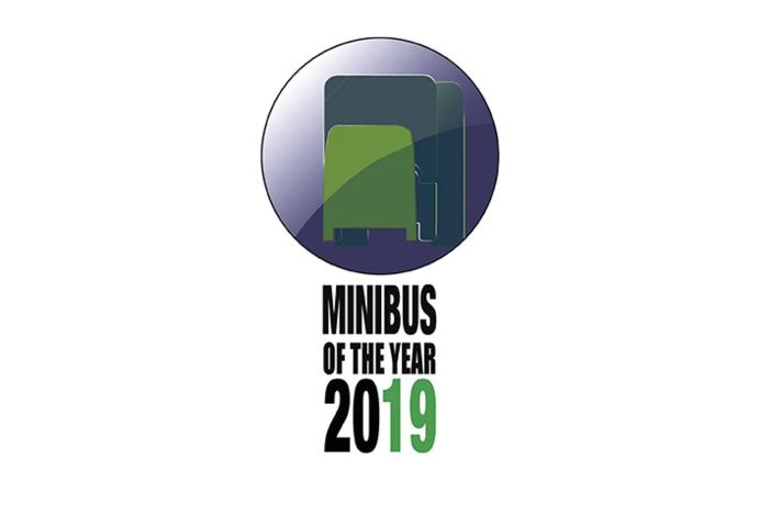 Minibus of the year 2019 logo