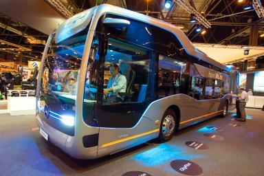 Autobús expuesto