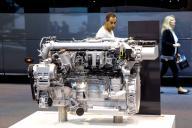 Motor de un autobus