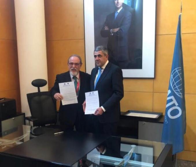 Firma del Código Ético Mundial y de Responsabilidad Social Corporativa