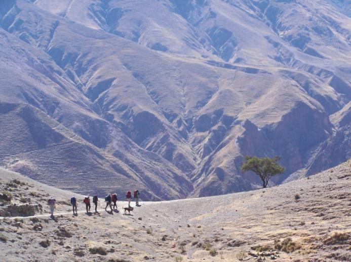 Trekking de Iruya a la Quiaca - Argentina