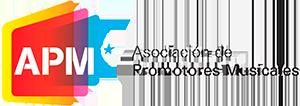 Logo APM. Asociación de promotores musicales