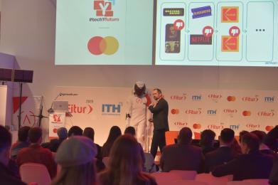 Presentación en TechYfuturo, en FITUR 2020