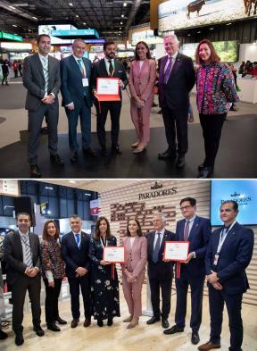 Stand Paradores y Stand Andalucía, ganadores del premio stand sostenible