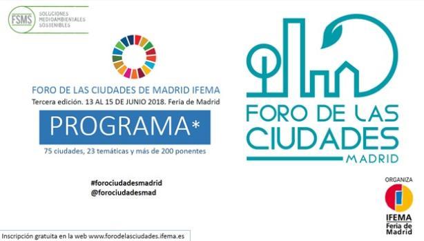 Programa foro de las ciudades