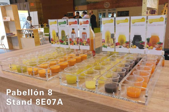Zona especial de degustación en el stand 8E07A de COMFRESH