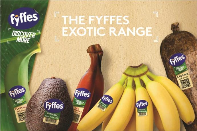 FYFFES lanza su nueva gama Exotics en Fruit Attraction