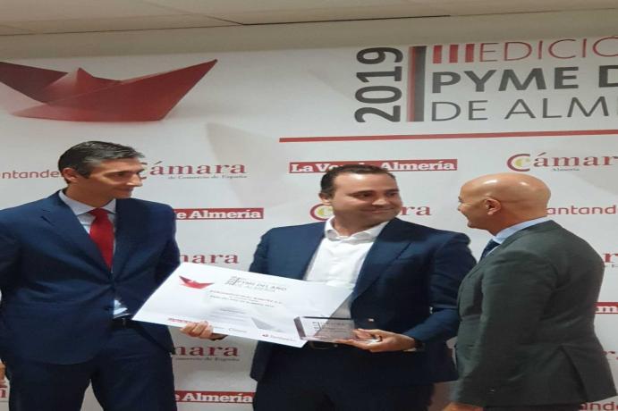 KIMITEC recibe el premio a Pyme del año de Almería 2019
