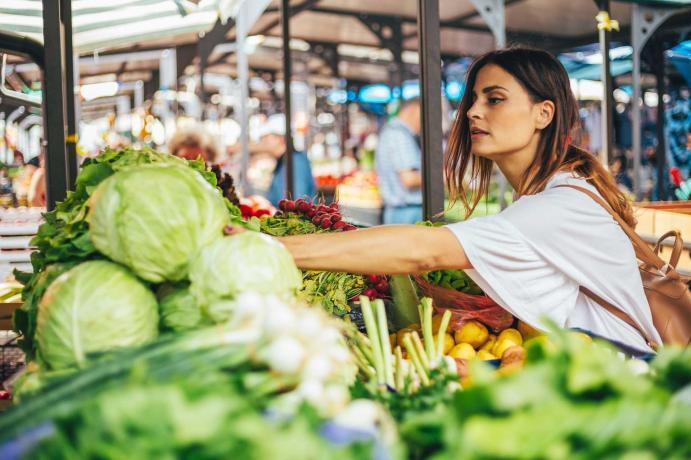 Consumo de frutas y hortalizas en España