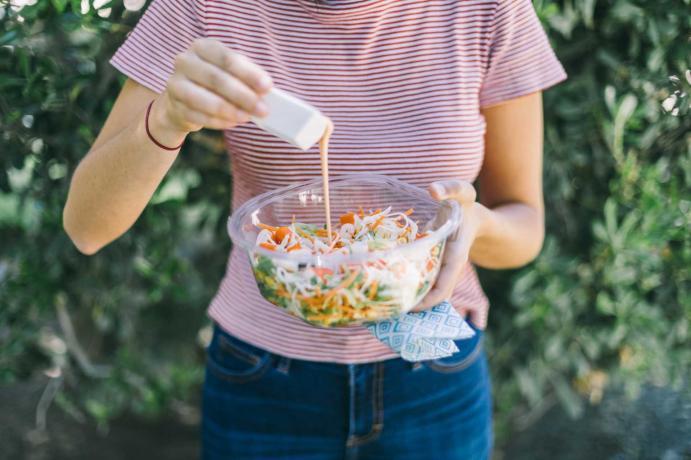 Salsa en ensalada