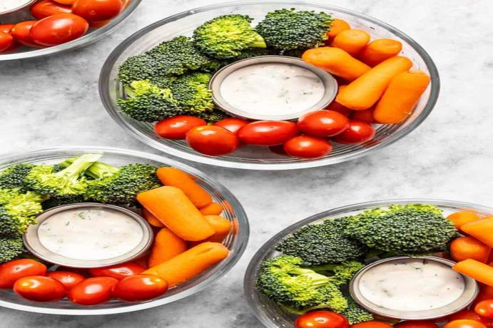 El snack hortofruticola