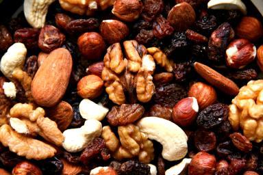 frutos secos almendras nueces ect