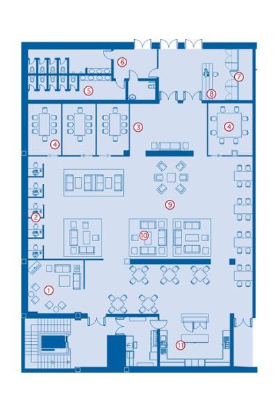 Business Centre map