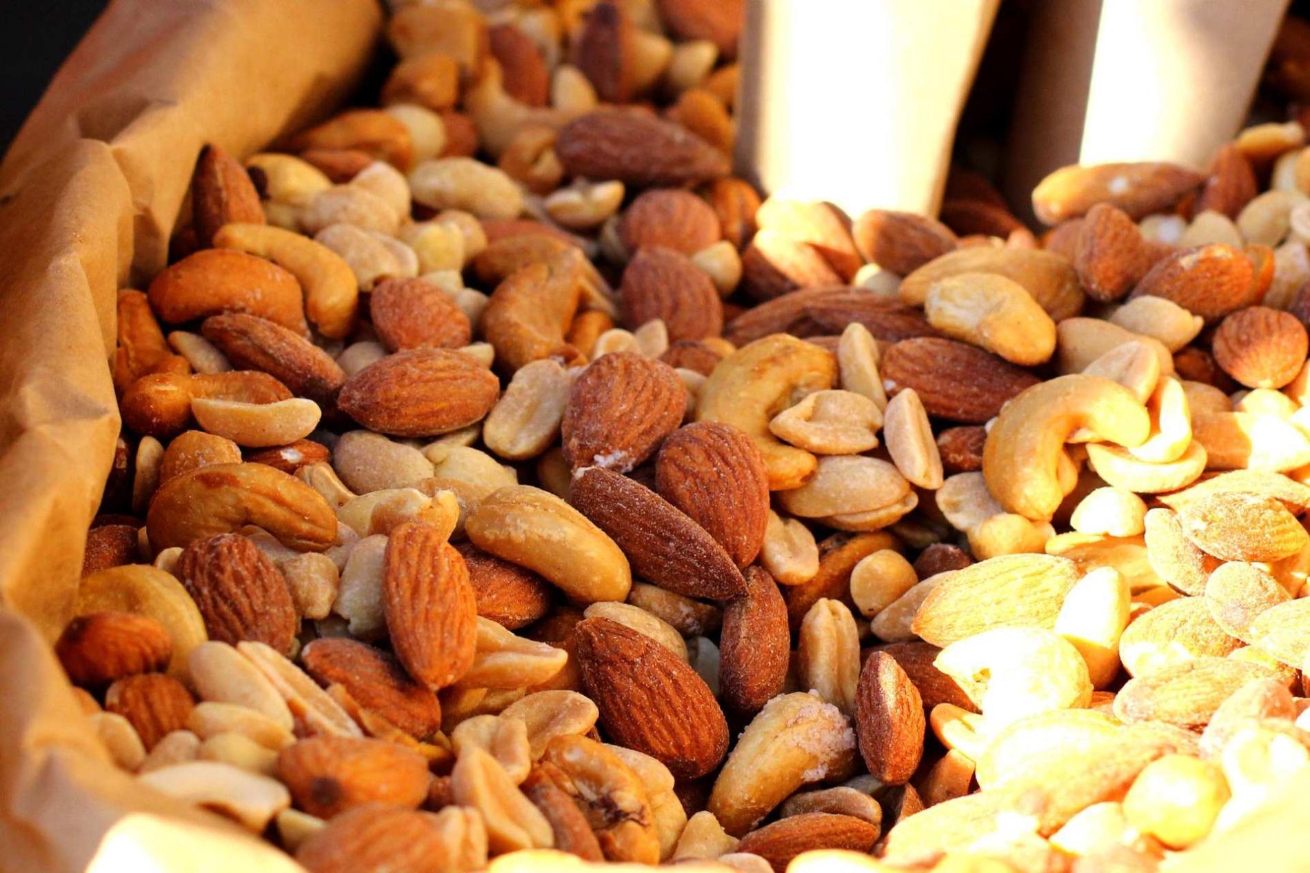El mercado de los frutos secos en España
