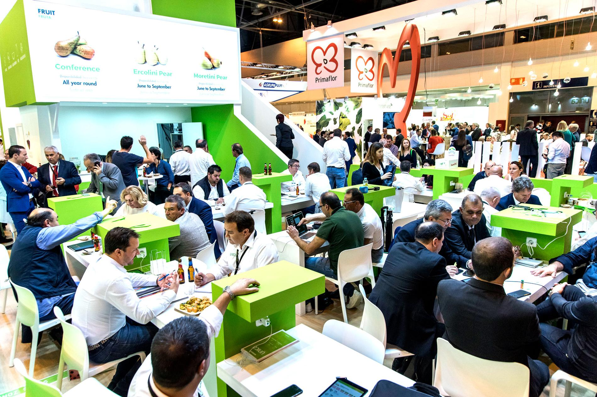 fruit attraction meeting booth