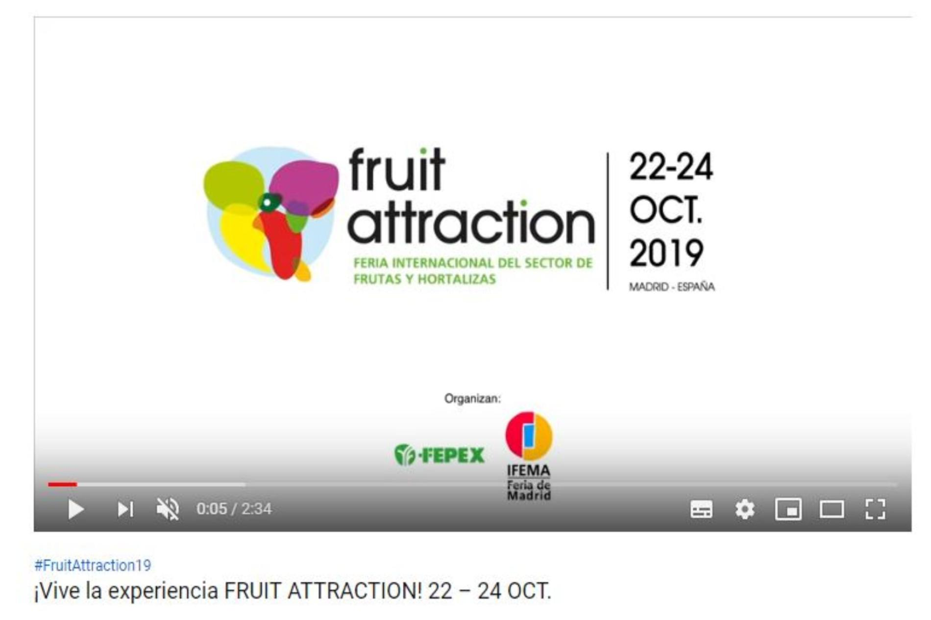 Video: Fruit Attraction