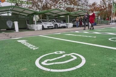 Parking eléctrico IFEMA / Iberdrola