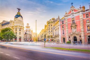 Edificio Metrópoli de la Gran Vía de Madrid