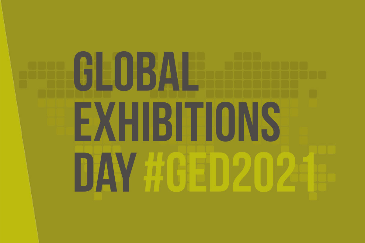Global Exhibitions Day 2021 banner