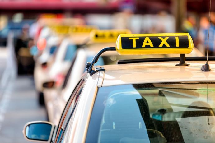 parada taxi servicio