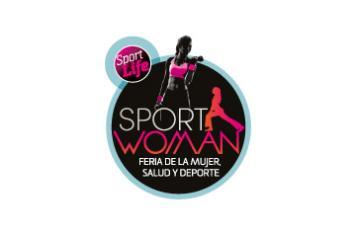 Sport woman logo