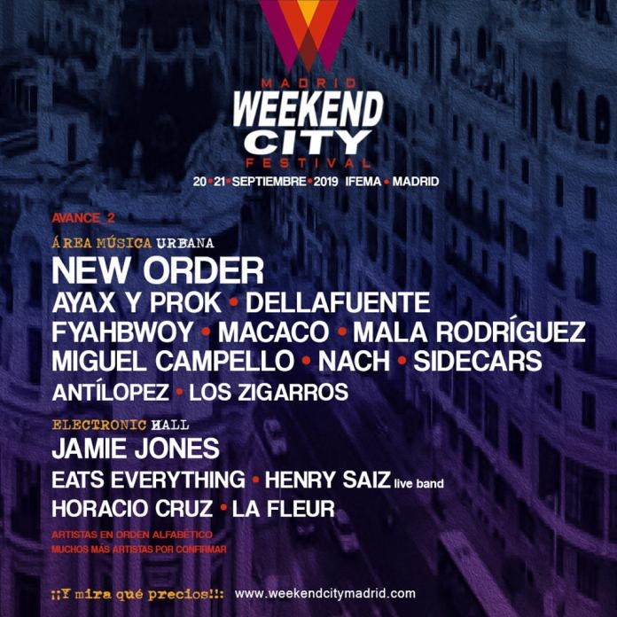 weekend city madrid