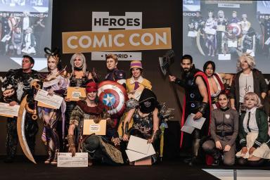 Los amantes del Noveno Arte se citan en Héroes Comic Con Madrid