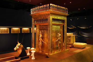 Exposición de Tutankhamón en Madrid también en enero.