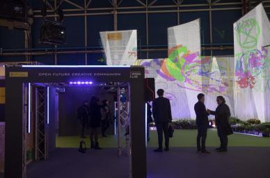 La Fundación IFEMA Lab estuvo presente en la COP25 con el proyecto inédito 'Open Future Creative Communion'
