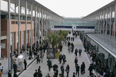 panoramica pasillo central IFEMA MADRID