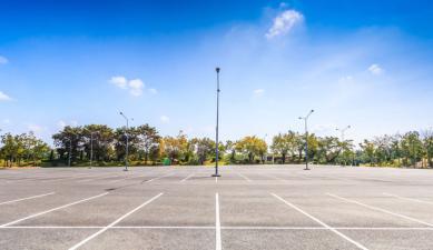 Parking vacio